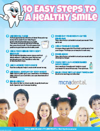 10 Easy Steps to a Healthy Smile