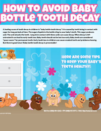 How to Avoid Baby Bottle Tooth Decay
