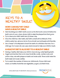 Keys to a Healthy Smile